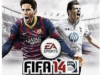 FIFA 14 for XBOX 360 + Pro Evolution Soccer 2012 for XBOX360 - 2 separate games