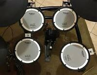 ROLAND TD-9K Electronic Drum kit with mesh heads.