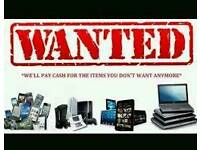 Wanted faulty non working electrical items