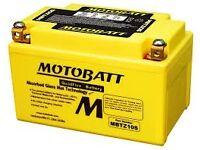 MOTOBATT QUADFLEX BATTERY MBTZ10S