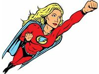 Become a Superhero! Charity Fundraising Jobs £8-12 per hour