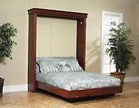 Custom made murphy bed