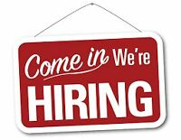 JOIN OUR GROWING TEAM NOW!! (F/T)