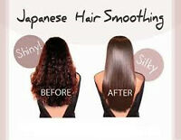 Japanese straightening & Keratin treatment