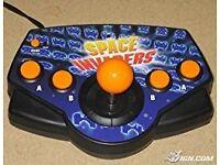 Space Invaders Plug N Play 5 in 1 , Lunar Rescue, Phoenix etc