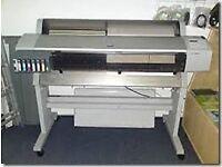 Plotter printing machine