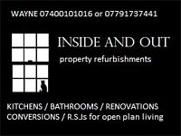BATHROOM FITTER / KITCHEN FITTER / WETROOMS / PLASTERER / REFERENCES / DECORATING / PLUMBING