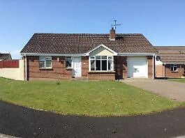3 bedroom bungalow to let, Brecanlea, Claudy.