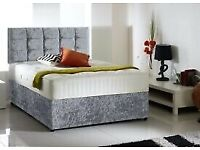 Bed and 25cm Memory Foam Mattress Single £135 Double £155 Kingsize £185 Superking £235