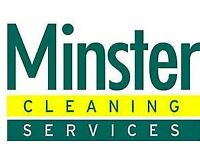 Solihull- Office and medical centre cleaning vacancies available