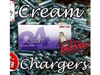 Nos   whipped cream canisters