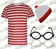Red and White Striped Hat
