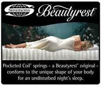 Queen – Simmons BeautySleep - 800 Pocket Coil - $2200 Value