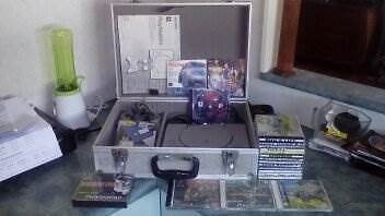 wow rare ps1 console complete with 2 new m/cards and 20+ games vg Heatley Townsville City Preview