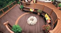Outdoor staining/sealing 15% off book today
