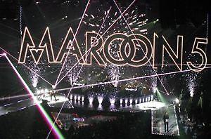 MAROON 5 CENTRE VIDEOTRON  LE 27 FEVRIER