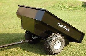 Like New Bush Buggy ATV Trailer