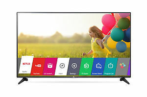 "LG 55"" 1080p LED Smart TV and LG 49'' 4K Ultra HD LED Smart TV"