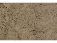 Sand delivery, aggregate one ton £42.50 sand
