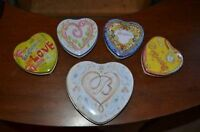 Heart Shaped Tin Boxes
