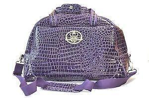 Kathy Van Zeeland Purple Handbag