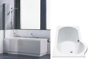 badewanne mit dusche ebay. Black Bedroom Furniture Sets. Home Design Ideas