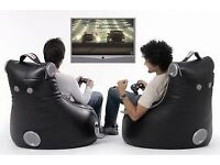 2 X SlouchPod Interactive XT Gaming Chairs.Bean Bag Style