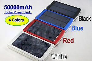 Solar bank power , batterie chargeur 50 000 mah neuf