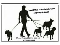 Cardiff dog walking service