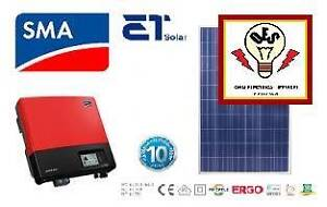 5KW SMA SUNNYBOY ETSOLAR GOLD PV SOLAR SYSTEM Jimboomba Logan Area Preview