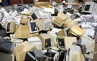 Used electronics and computer waste