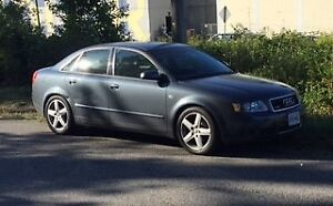 2003 Audi A4 1.8l Turbo - Quattro 5spd - $4600