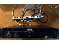 C Audio SR 202 Power Amplifier – DJ Band Disco Party club pub Speaker Amp Sound System