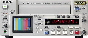 DV Sony Broadcast recorder