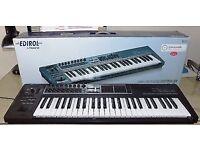 Edirol PCR 500 MIDI controller keyboard