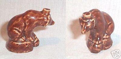 SMALL BROWN WADE CHINA CIRCUS BEAR