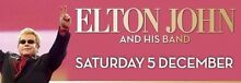 2 x Gold Reserve tickets - Elton John at Hope Estate Leichhardt Leichhardt Area Preview