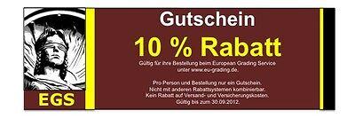 EGS GUTSCHEIN 10 % RABATT ZUSTANDSBEWERTUNG PROFESSOR ZAMORRA 1 2 3 4 5 6 0 0-1