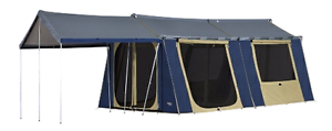 Canvas 2 room tent Mount Sheridan Cairns City Preview