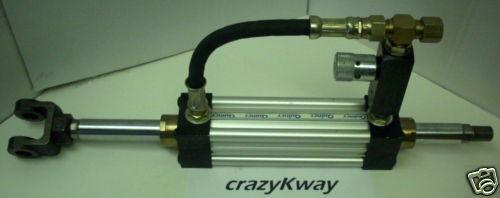 QUINCY ORTMAN 196781-05 HYD CYLINDER & FLOW CONTROL ASSY. 2.0 X 6.0  NEW NO BOX