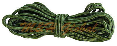 GREEN 3/8'' x 50ft. Utility Nylon Rope Tensile Strength Tie Down 1350 lbs Cap.