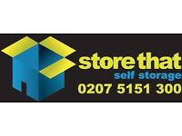 STORE THAT! Brand New 33sqft storage units AVAILABLE NOW *CANARY WHARF* *ISLE OF DOGS**DOCKLANDS*