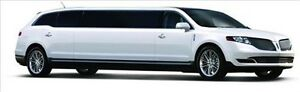 We carry the New MKT limo. Perfect limousine for your wedding