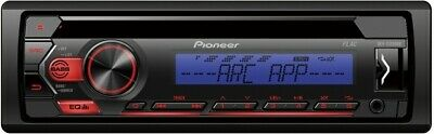 Pioneer Autoradio DEH-S120UBB - CD/ MP3 Autoradio mit RDS, USB und AUX- Eingang
