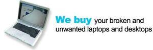 SAME DAY CASH FOR YOU UNWANTED & BROKEN IMAC, MACBOOKS & PCS