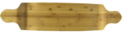 "BAMBOO Drop Down LONGBOARD SKATEBOARD Deck 9.75"" x 41.25"" Lowrider"