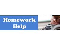 Homework and school help!