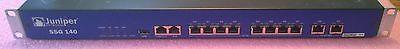 Used Juniper Networks Ssg140 Secure Services Gateway Rack Mountable Ssg 140 Sb