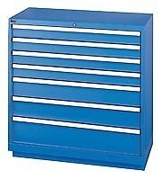 LISTA XSHS0900-0702 - HS900 7-Drawer Counter Height Cabinet, Shallow Depth