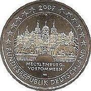 2 Euro Mecklenburg